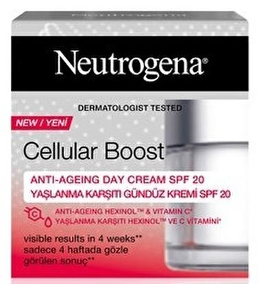 Neutrogena Neutrogena Cellular Boost Yaşlanma Karşıtı Gündüz Kremi 50 Ml Renksiz